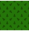 pattern for wrapping paper christmas tree vector image vector image