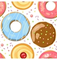 Sweet background vector image