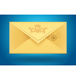 vector envelop icon vector image vector image
