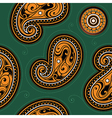Seamless backdrop with ethnic ornament vector image