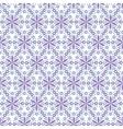 Abstract arabic islamic seamless geometric radial vector image vector image