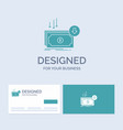 business cost cut expense finance money business vector image vector image