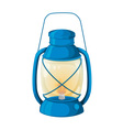 Camping lamp vector image vector image