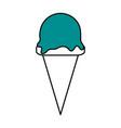 ice cream icon image vector image vector image