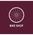 modern bicycle wheel vector image