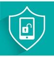 phone unlock vector image