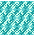 Seamless pattern of interlacing lines in retro vector image vector image