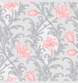 Victorian lily pattern vector image