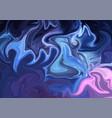 abstract neon acrylic nebula colors wallpaper vector image vector image