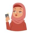 Arabic woman vector image vector image