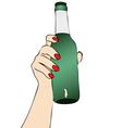 Desire to Beer vector image vector image