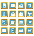 Email icons azure