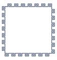 Greek decorative frame for design minimal style vector image vector image