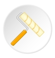 Paint roller icon cartoon style vector image vector image