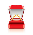 object ring box vector image