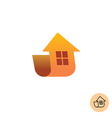 Building house logo vector image
