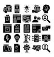business trade icon editable vector image vector image