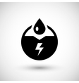 Generation of electricity icon vector image vector image