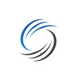 letter c logo template design vector image