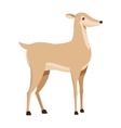single reindeer icon vector image vector image