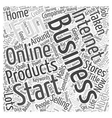 Why you should start an internet business Word