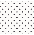 Polka dot seamless pattern background vector image