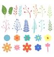 Stock Natural design elements hand-drawn vector image