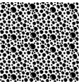 seamless abstract hand-drawn pattern with black vector image
