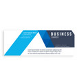 blue design abstract business banner image vector image vector image