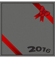 Leather Background 2016 vector image vector image