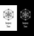 logo yoga vector image vector image