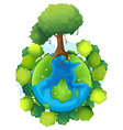 Mother earth vector image vector image