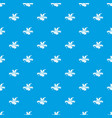 painting tool tube pattern seamless blue vector image vector image