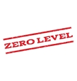 Zero Level Watermark Stamp vector image vector image