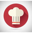 Chief Cook Symbol Toque Cuisine Food Icon on vector image