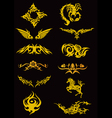 Tatoo Set vector image