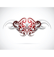 Ethnic tattoo design vector image vector image