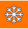 snowflake icon Eps10 vector image vector image