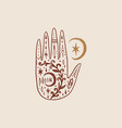 witchcraft culture concept harmony and zen vector image vector image