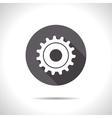 cogwheel icon Epsflat0 vector image vector image