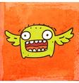 Flying Monster Cartoon vector image