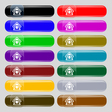 House icon sign Set from fourteen multi-colored vector image vector image