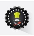 Restaurant logo design vector image vector image