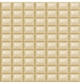 seamless texture white Chocolate vector image vector image