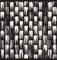 set 50 freehand brush strokes 1 invert vector image vector image