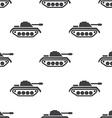 tank seamless pattern vector image vector image