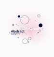 abstract background in a flat minimalistic style vector image vector image