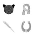 animal education and other monochrome icon in vector image vector image