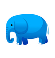 icon elephant vector image vector image