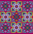 seamless pattern with a bright pattern vector image vector image